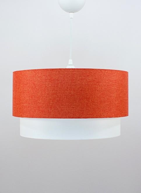 Crea Lighting Doubleshade Medium Sarkıt 30cm Oranj